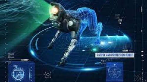robot patrol pubg